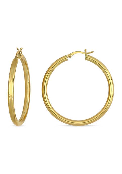 Belk & Co. 40 Millimeter Hoop Earrings in