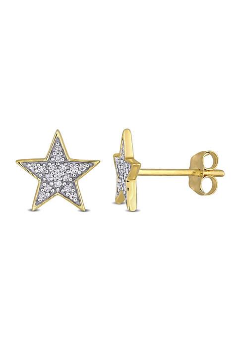Belk & Co. 1/10 CT TW Diamond Star