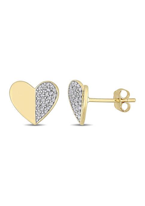 Belk & Co. 1/6 CT TW Diamond Heart