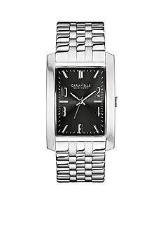 Caravelle New York Men's Stainless Steel Analog Watch
