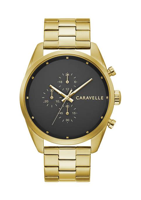 Caravelle New York Mens Min/Max Bracelet Watch