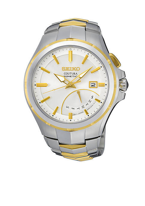 Seiko Mens Coutura Kinetic Retrograde Watch