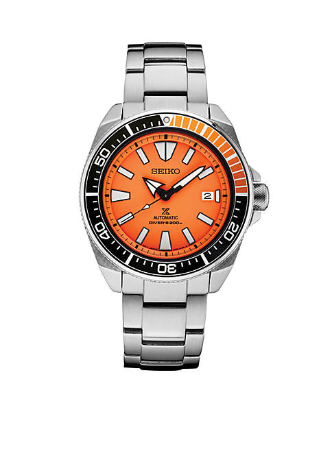 Seiko Stainless Steel Automatic Prospex Diver Bracelet Watch