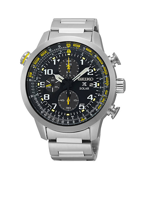 Seiko Mens Prospex Solar Chronograph Watch