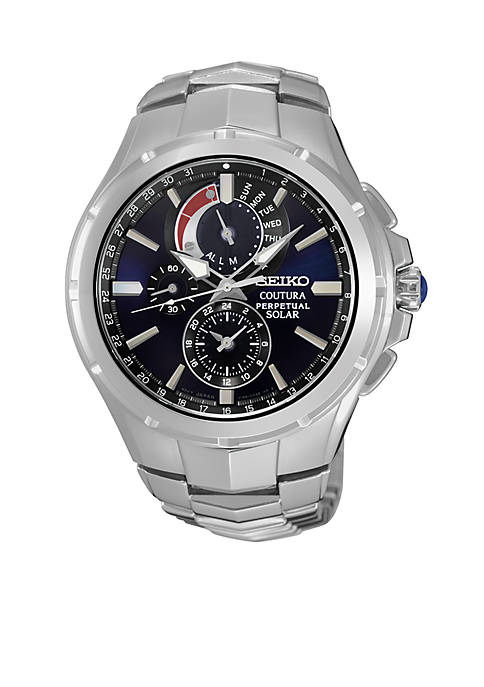 Mens Coutura Solar Perpetual Chronograph Watch