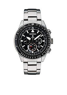 Men's Stainless Steel Solar Chronograph Prospex Bracelet Watch