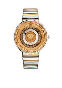 Versace Medusa Two-Tone Watch