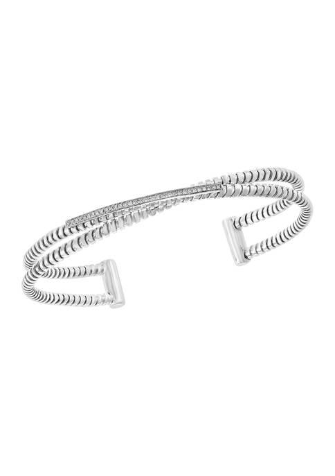 Effy® 1/10 ct. t.w. Diamonds Bracelet in Sterling