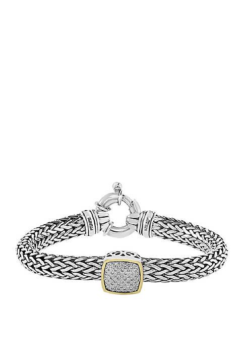 Effy® 1/5 ct. t.w. Diamond Bracelet in Sterling