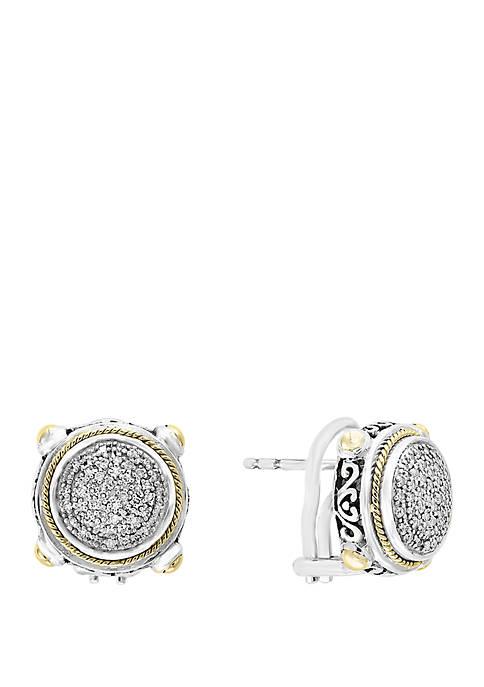 Effy® 1/3 ct. t.w. Diamond Earrings in 925
