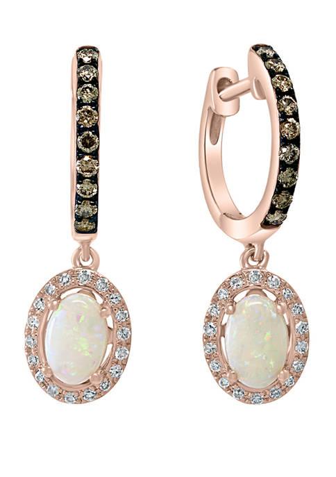 Effy® 1/3 ct. t.w. White and Brown Diamond