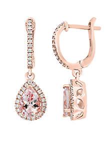 Morganite Earrings