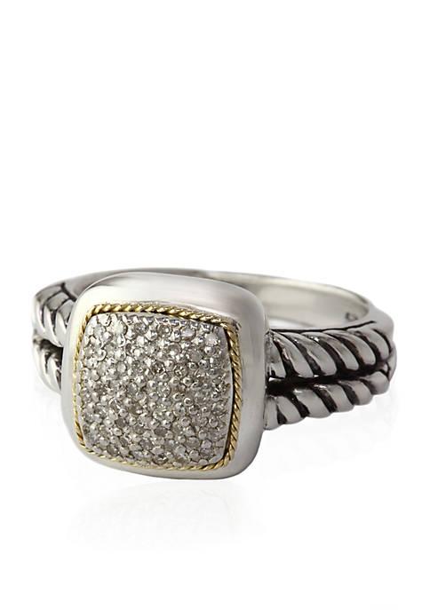 Effy® 0.20 ct. t.w. Diamond Ring in Sterling