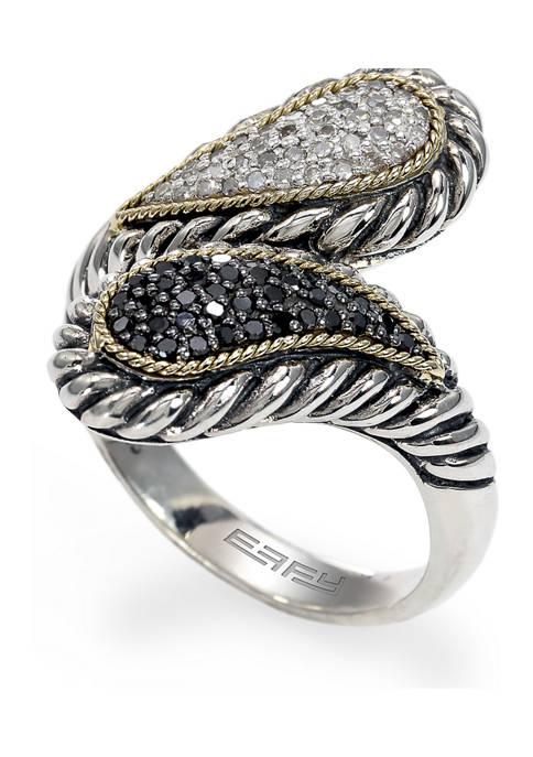 Effy® 1/10 ct. t.w. Sterling Silver Ring