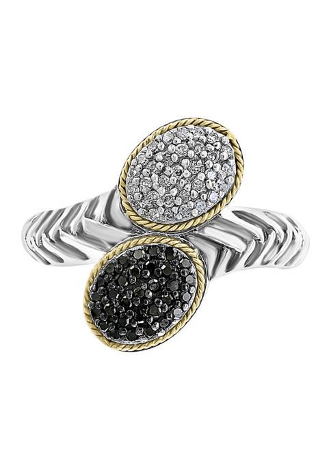 Effy® 1/4 ct. t.w. Diamond Ring in Sterling