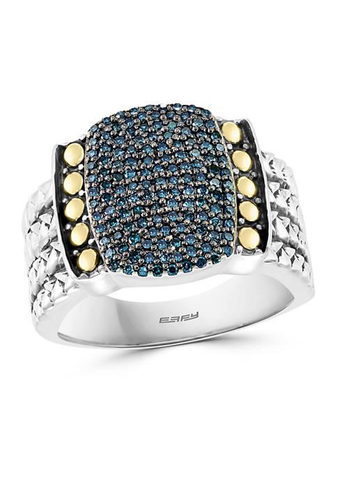 Effy® 3/8 ct. t.w. Diamond Ring in Sterling