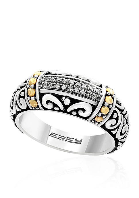 Effy® 0.07 ct. t.w. Diamond Band Ring in
