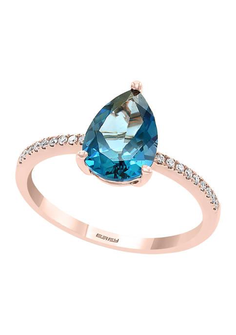 Effy® 1/10 ct. t.w. Diamond and 2.66 ct.