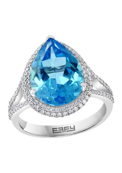 Effy® 14K White Gold 1/2 ct. t.w. Diamond