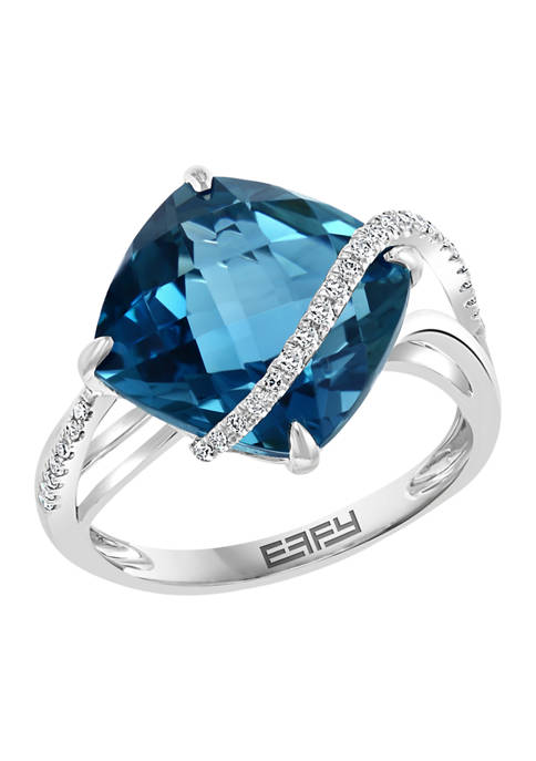 Effy® 14K White Gold 1/10 ct. t.w. Diamond