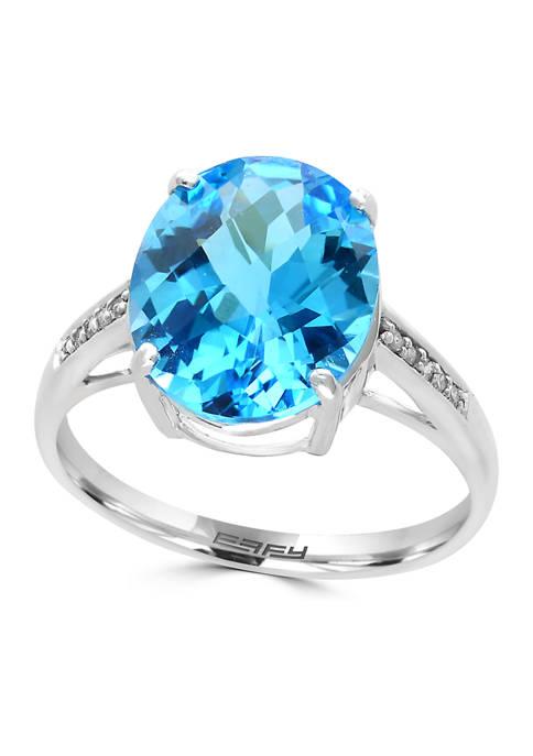 Effy® 1/10 ct. t.w. Diamond and 5.95 ct.