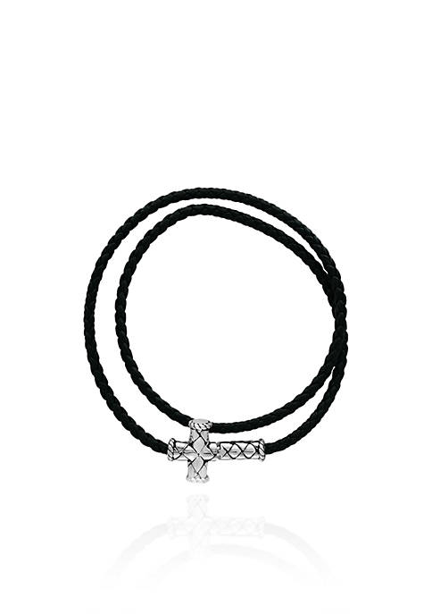Effy® Cross Wrap Bracelet in Sterling Silver
