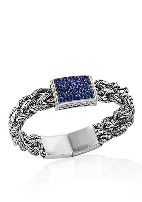 Sapphire Bracelet in Sterling Sliver