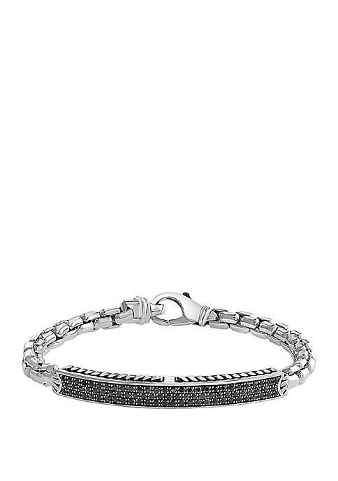 Effy® Mens 5.0 ct. t.w. Black Sapphire Bracelet