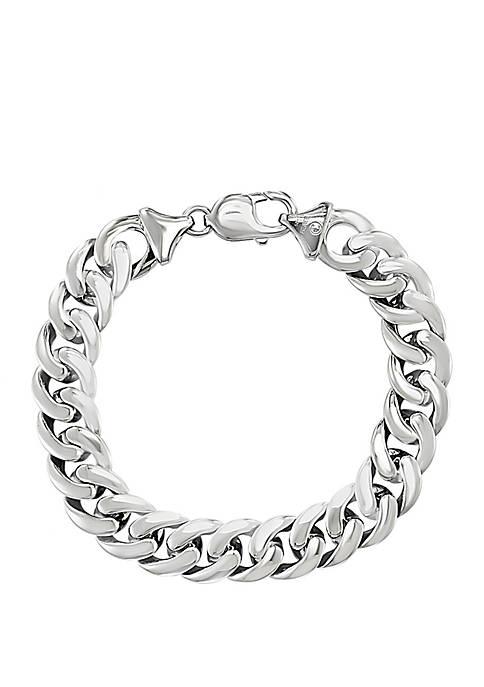 Effy® Mens Sterling Silver 8.5 Inch Bracelet With