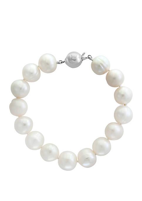 Freshwater Pearl Bracelet in Sterling Silver