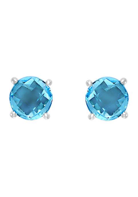 Effy® 2.3 ct. t.w. Blue Topaz Earrings in