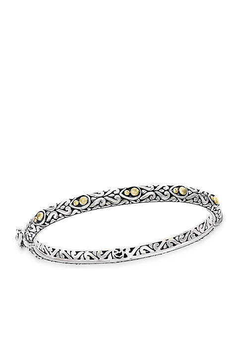 Effy® Sterling Silver with 18k Yellow Gold Dot