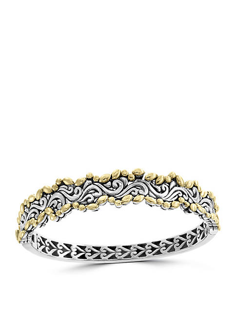 Effy® Bangle Bracelet in Sterling Silver and 18k
