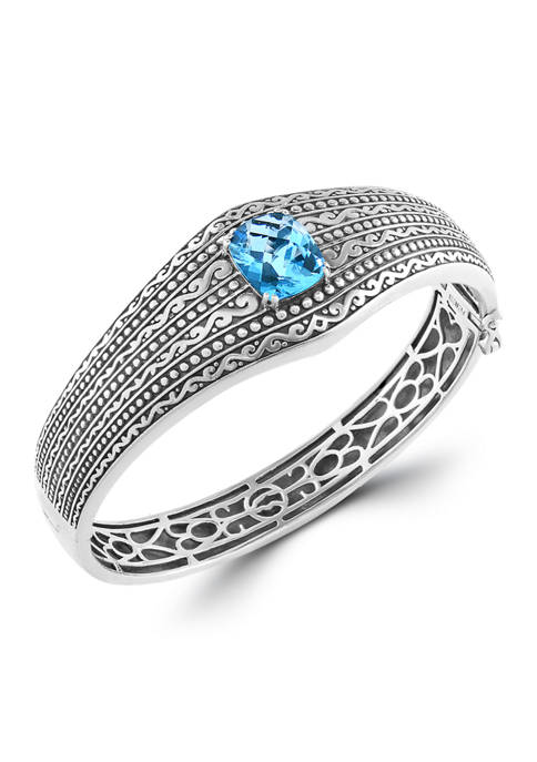 Effy® 6.95 ct. t.w. Blue Topaz Bracelet in