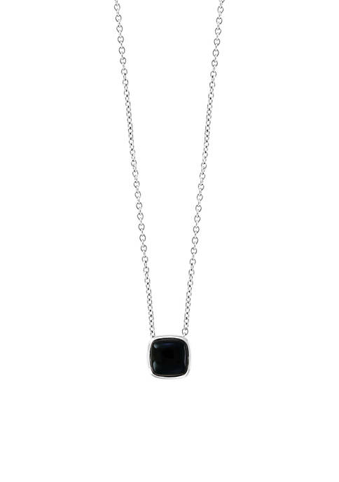 Effy® 1.00 ct. t.w. Onyx Pendant Necklace in