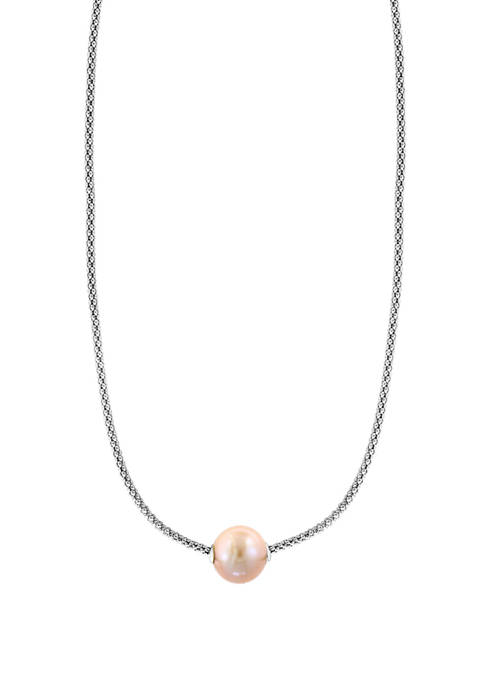 Effy® 10 Millimeter Peach Freshwater Pearl Necklace in