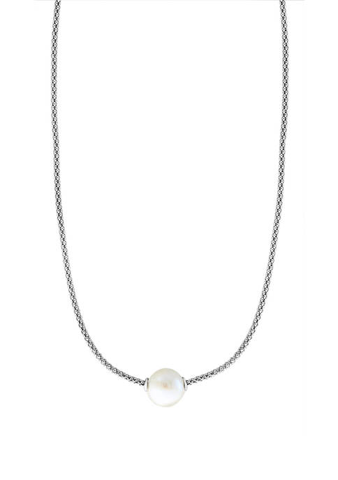 Effy® 10 Millimeter Freshwater Pearl Necklace in Sterling