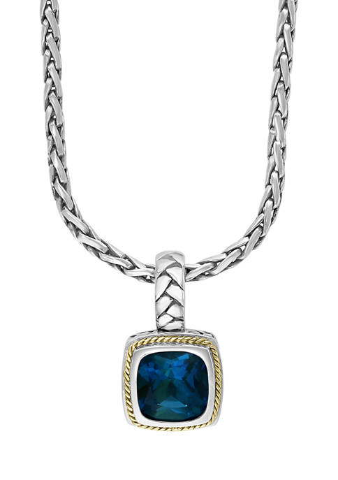 Effy® 4.65 ct. t.w. London Blue Topaz Necklace