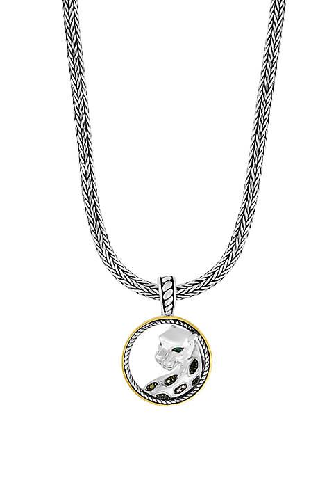 Effy® Tsavorite Signature 1/8 ct. t.w. Black Diamond