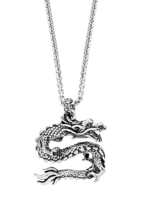 Effy® 1/10 ct. t.w. Black Spinel Pendant Necklace