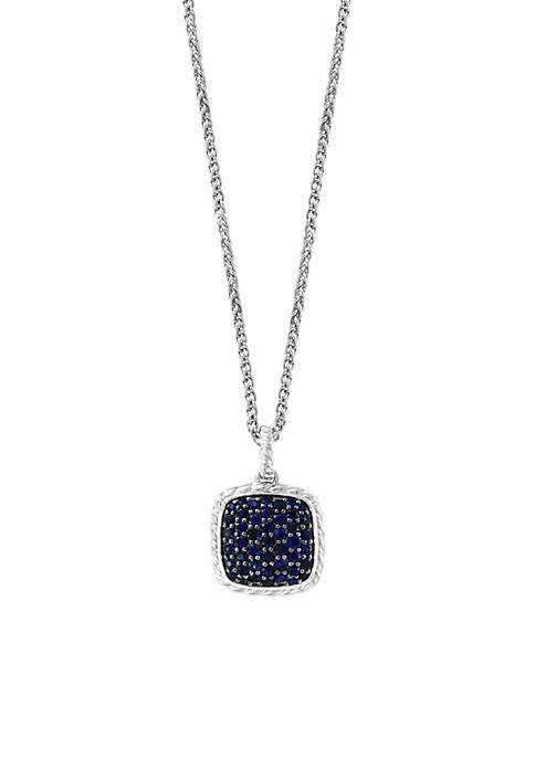 Effy® 1.50 ct. t.w. Sapphire Pendant Necklace in