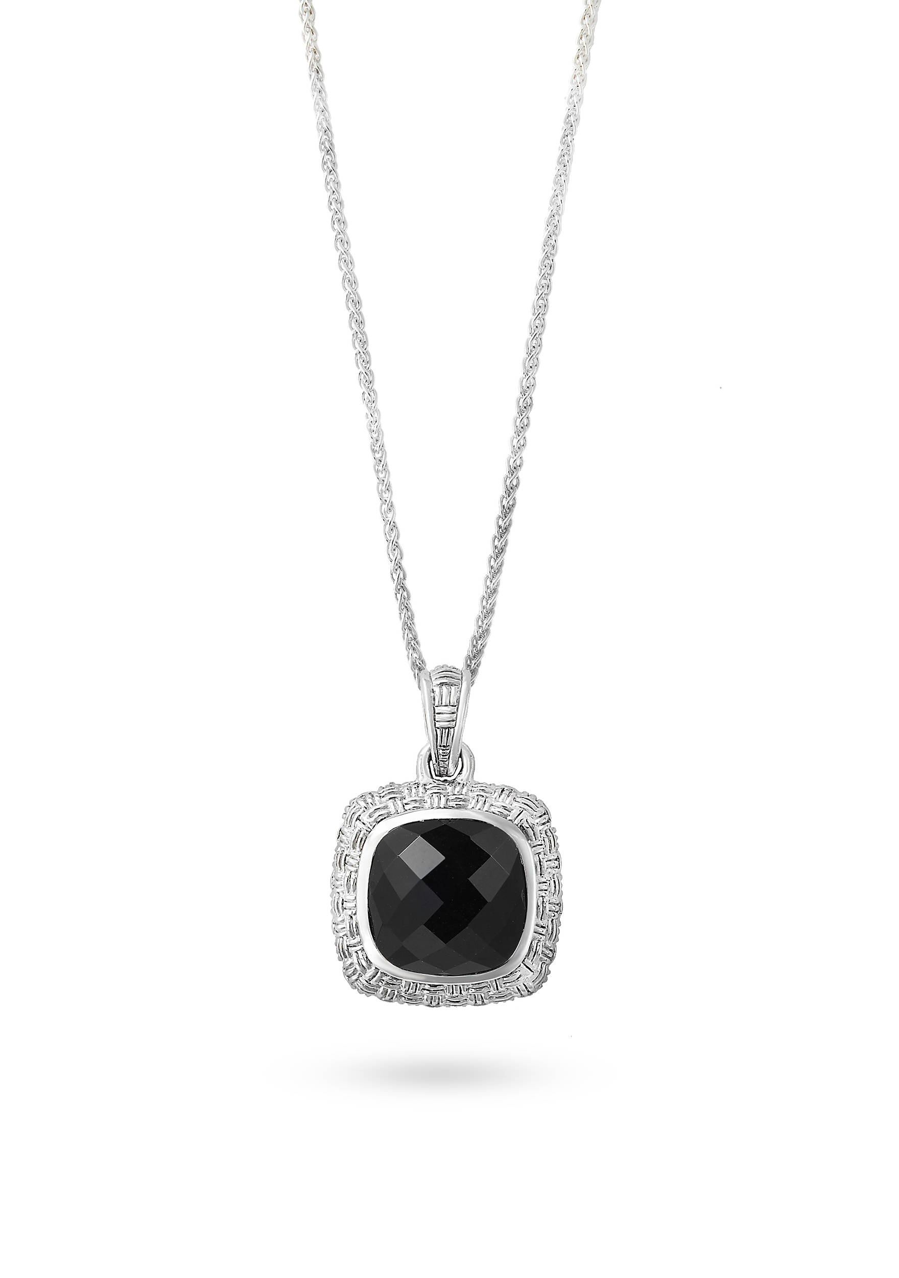 effy jewelry tcw white pendant jade black gold diamond and