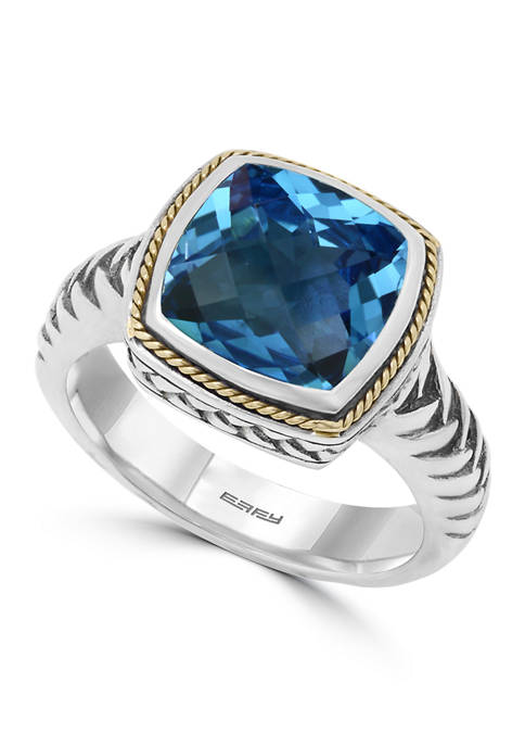Effy® 4.65 ct. t.w. London Blue Topaz Ring