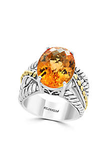 Sterling Silver Citric Ring