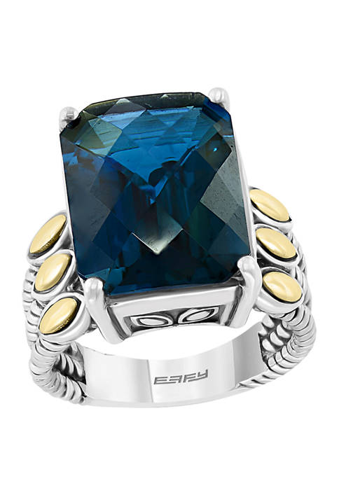 Effy® 11.3 ct. t.w. London Blue Topaz Ring