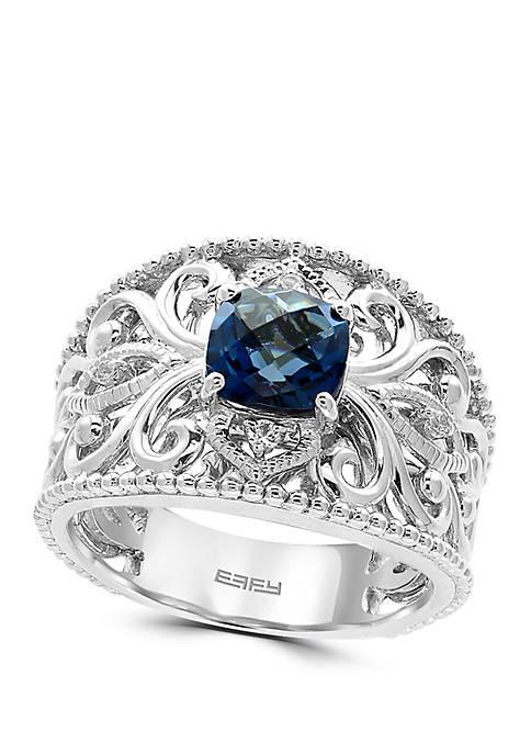 Effy® 1.72 ct. t.w. London Blue Topaz and