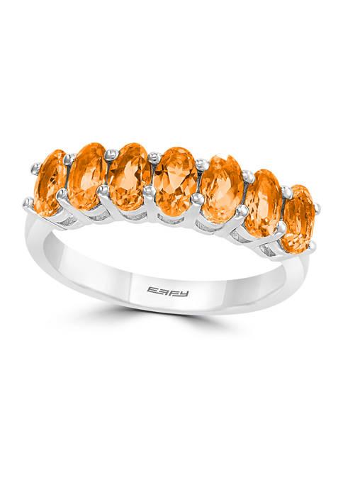 Effy® 1.65 ct. t.w. Citrine Ring in Sterling