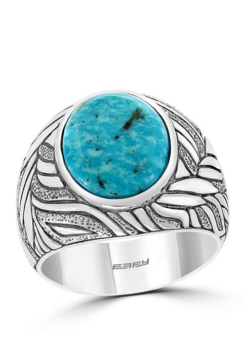 Effy® Mens 3.9 ct. t.w. Turquoise Ring in
