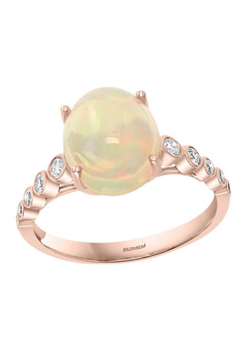 Effy® 14K Rose Gold 1/5 ct. t.w. Diamond