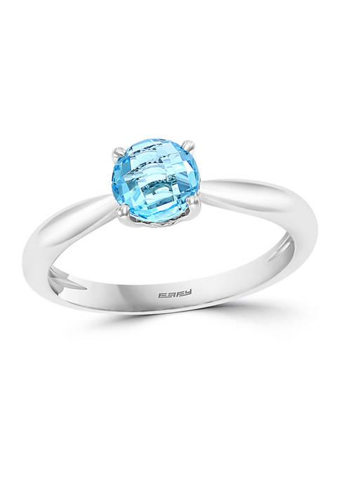Effy® 1 ct. t.w. Blue Topaz Ring in